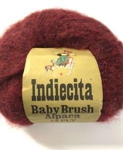FIBRESPACE NZ Indiecita Baby Brush Alpaca Yarn 14 ply buy new zealand product image