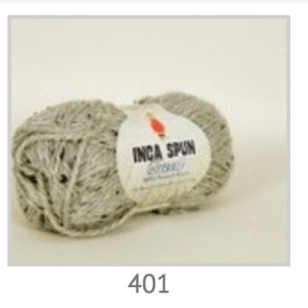 Inca Spun Tweed Shade 401