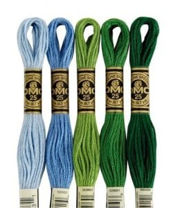 Cotton Embroidery Floss (stranded)