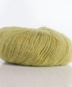 Indiecita 14ply brushed alpaca green 1265