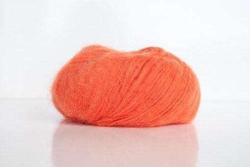 Indiecita 14ply brushed alpaca orange 5198