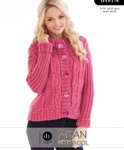 DY Choice Aran With wool Pattern DYP178