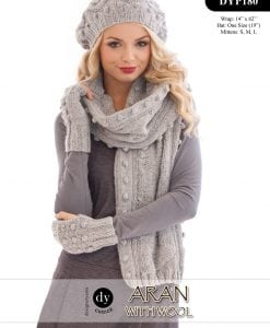 DY Choice Aran With wool Pattern DYP180