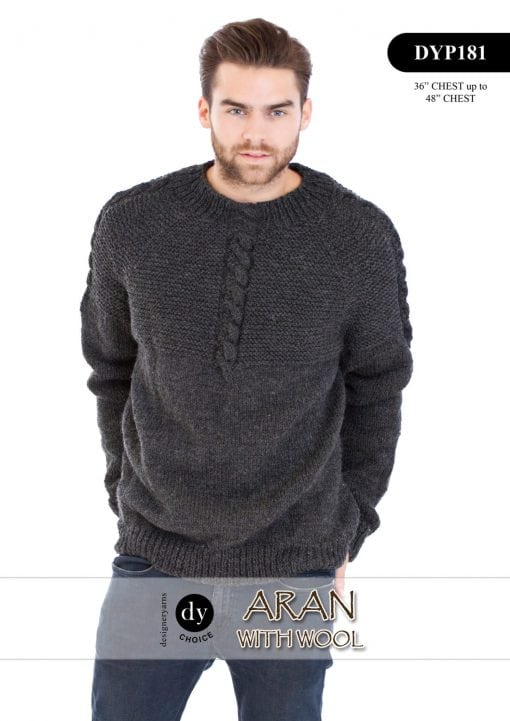DY Choice Aran With wool Pattern DYP181