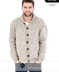 DY Choice Aran With wool Pattern DYP182