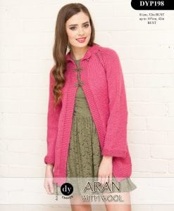 DY Choice Aran With wool Pattern DYP198