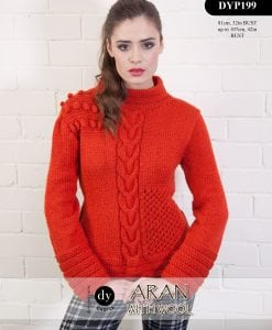 DY Choice Aran With wool Pattern DYP199