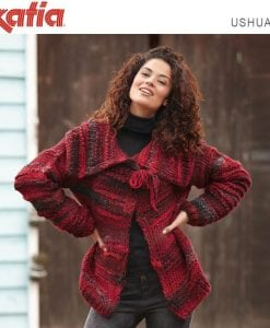 430 Katia Ushuaia Lady's Jacket Knitting Pattern