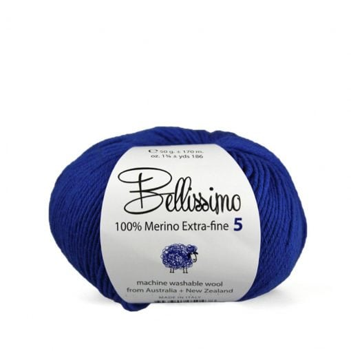 Bellissimo 5 5ply 100% Merino Extra-fine wool 50g texyarns feature