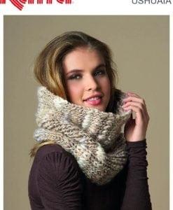 Katia Ushuaia Cowl Knitting Pattern TX181