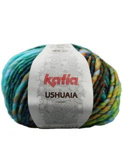 Katia Ushuaia super chunky yarn 53% Virgin Wool 47% Acrylic feature