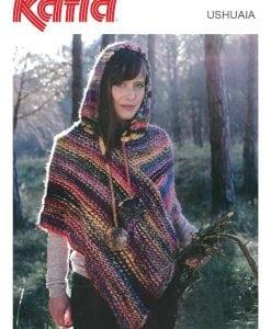 TX448 Ushuaia Poncho Knitting Pattern
