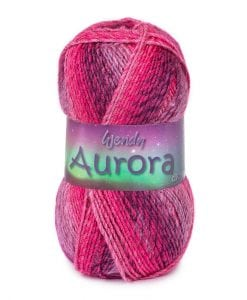 Wendy Aurora Double Knit 8 Ply Yarn Acrylic shade cover photo