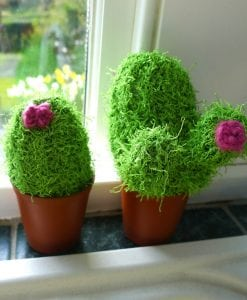Wendy Wash Knit Aran Knitting Pattern 5999 cacti