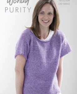 Wendy Purity Spring Top 6055 | Knitting Pattern