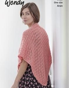 Wendy Purity Spring Shawl 6053 | Knitting Pattern