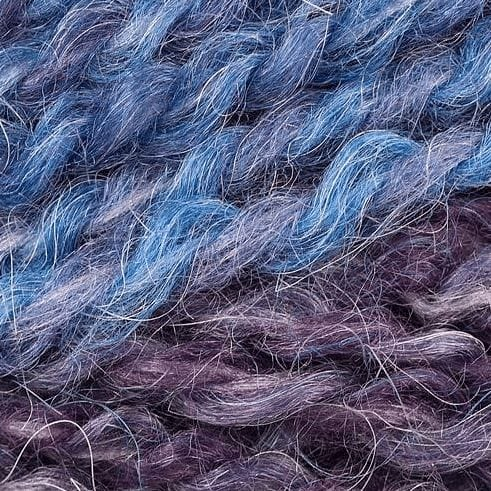 DY Choice La Paz Aran 10ply Acrylic, Alpaca Blend nz 09 Denim