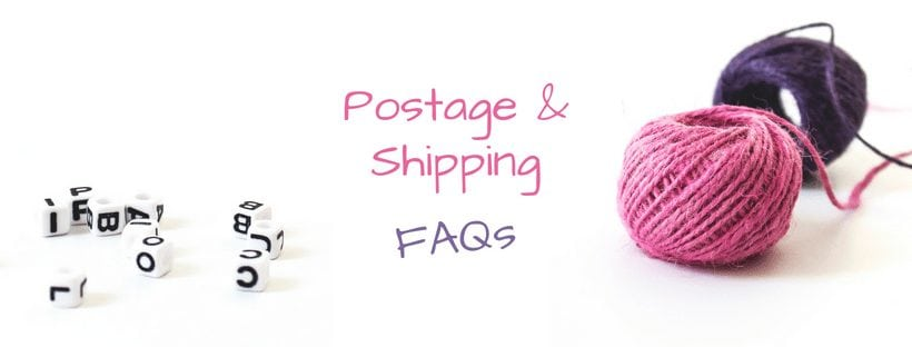 Fibrespace postage and shipping policy FAQs