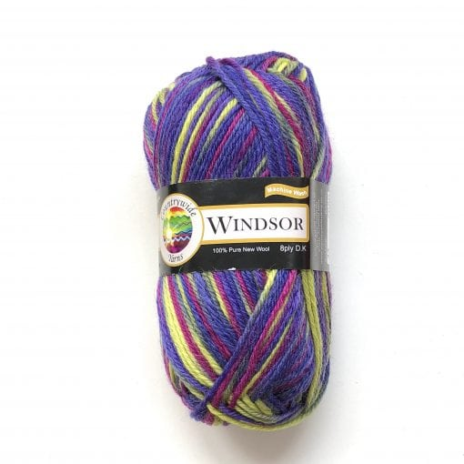 Countrywide Windsor 100% New Zealand wool yarn 8ply Pattern Prints 8 ply double knit dk Cover