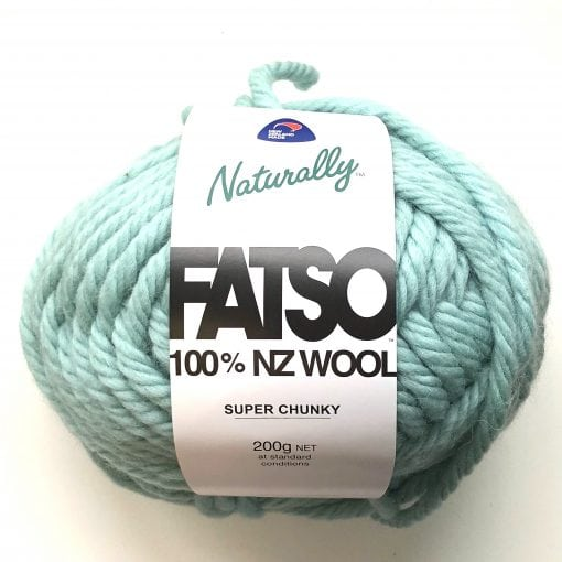 Naturally Fatso 100% New Zealand wool 200g Cover