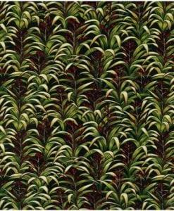 #85220 FLAX FLAX COL. 101 GREEN Nutex kiwiana quilting fabric