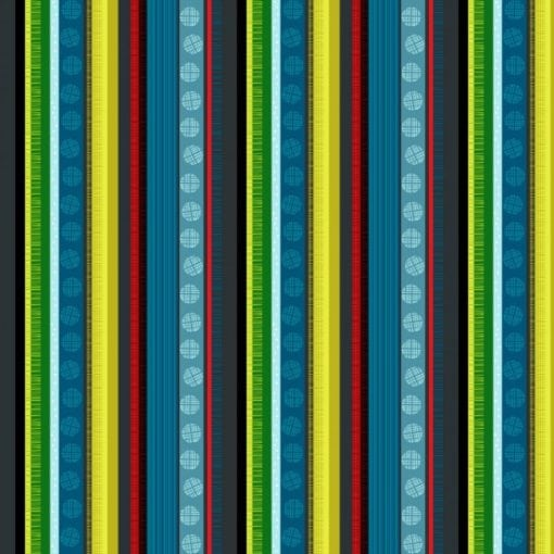 #89590 FOREST SONG FOREST SONG COL. 104 STRIPE Nutex kiwiana quilting fabric