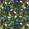 #89590 FOREST SONG FOREST SONG COL. 105 FLOCK Nutex kiwiana quilting fabric