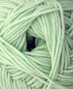 Broadway Yarns 4ply Baby Supremo Merino Yarn NZ Swatch 18 mint