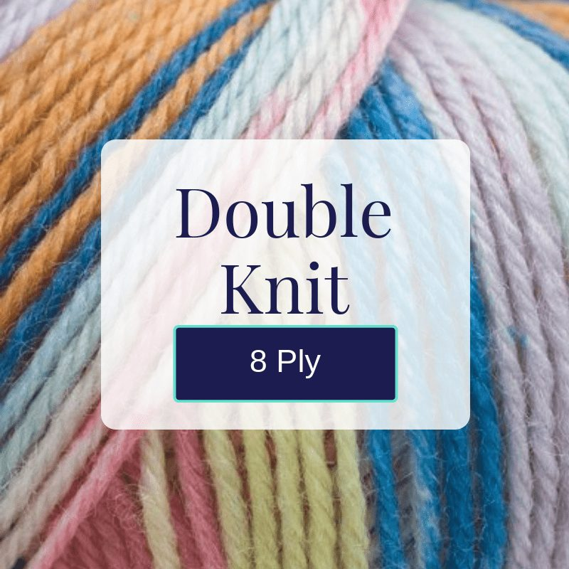 Buy 8 ply double knit weight yarn wool New Zealand