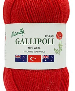 Gallipoli 8ply 100% wool new zealand