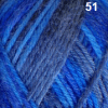 FIBRESPACE Windsor Pattern Print 8ply Shade 51