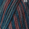 FIBRESPACE Windsor Pattern Print 8ply Shade 55