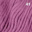 Soft Cotton 8 ply Double Knit Yarn NZ Shade 41 Pink